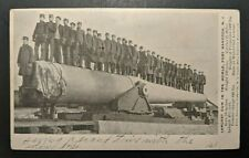 1906 Largest Gun in the World Fort Hancock NJ Fairlawn NJ Private Postcard Cover