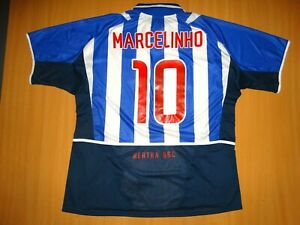 Hertha Berlin #10 MARCELINHO 2002 2003 HOME  Football Shirt NIKE XXL