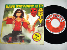 DAVE STEWART It's My Party 7""