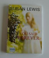You Said Forever- by Susan Lewis - MP3CD  Audiobook