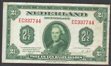 Niederlande 2 1/2 Gulden 1943