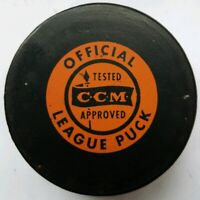 1974 BALTIMORE MD. BANTAMS SNOOPY CCM APPROVED VINTAGE MADE N CANADA HOCKEY PUCK