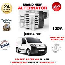für Peugeot Bipper NEU Lichtmaschine 105A ab 2010 1.3 HDi 75 ohne Luft Zustand