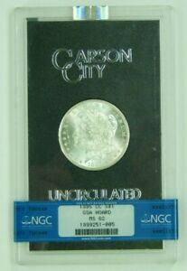 1885-CC 1885 CC Carson City Morgan Silver Dollar BU NGC MS62 Uncirculated GSA 05