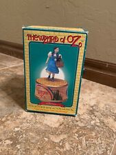 1995 Wizard Of Oz Enesco Music Box Dorothy and Toto Over The Rainbow Box (Bd4)