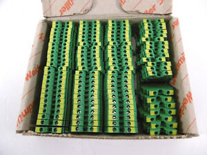 95 Stück Weidmüller WPE 1.5/R3.5 Durchgangs-Reihenklemme | 1798460000 NEU OVP