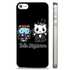 Nightmare Before Xmas Hello Kitty CLEAR PHONE CASE COVER fits iPHONE 5 6 7 8 X
