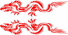 "Dragon Vinyl Car Decals Stickers Car Graphics (24"" x 6"")"