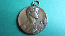 Medaille Art Deco Bronze Gaumeister 1930 Stemmen Helios Aachen in vz (1859)
