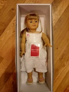 Rare American Girl Gwen Doll Great Condition W/ Meet Outfit New In Orig Box
