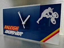 Lightweight Raleigh team aero pro burner BMX stunt bike wall clock 300x150x2mm,