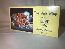 The Ark Map By Tom Pansini 200 Piece Jigsaw Puzzle Sunsout