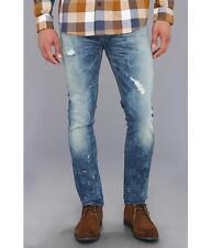 Hudson Sartor Slouchy Men's Skinny Leg Jeans Hendrix MADE IN USA $280 NEW 33x34