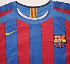 Mens Vintage BNWOT Blue NIKE 90 FCB BARCELONA Official Soccer Jersey size M