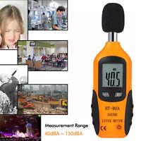 LCD Digital Sonomètre Décibelmètre Compteur Mesure du bruit Testeur 40-130dB