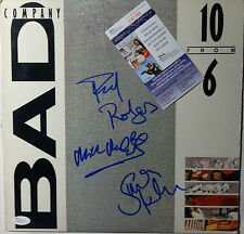 """SIGNED BAD COMPANY AUTOGRAPHED LP 12""""  CERTIFIED JSA # P87385"""
