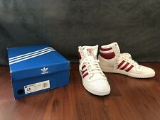 Adidas Top Ten Hi - Size 13 - OG White & Red - BRAND NEW in the box