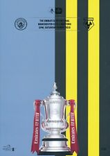 FA CUP FINAL PROGRAMME 2019 Manchester City v Watford - READY to SEND OUT NOW!