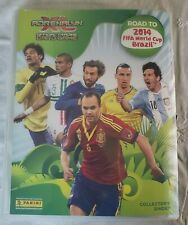 PANINI ADRENALYN XL FIFA World Cup BRAZIL 2014  BINDER Almost Complete 209/235
