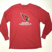 Arizona Cardinals Long Sleeve Shirt Men's Size L NFL Football Fan Crew Neck Tee