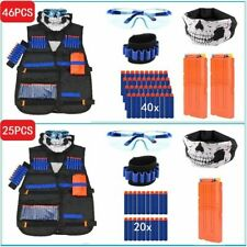 NERF Vest Gun Tactical Kids Jacket GFU for Boys Utility Ammo NURF n Accessories