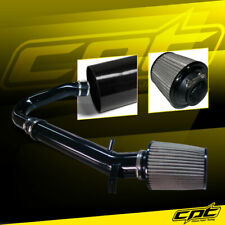 For 11-20 Dodge Charger/Challenger 3.6L Black Cold Air Intake + Stainless Filter