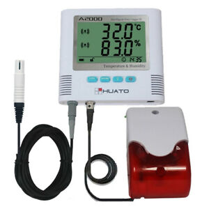 Huato A2000-EX-A1 Desktop Wall Mounted LCD Alarm Thermo-hygrometer Accuracy±0.5℃