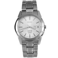 Seiko Sapphire Titanium Quartz Men's Watch SGG727P1