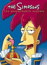 The Simpsons: Season 17 (DVD, 2014, 4-Disc Set)