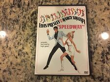 SPEEDWAY LIKE NEW NO SCRATCHES DVD 1968 ELVIS PRESLEY, NANCY SINATRA MUSICAL FUN