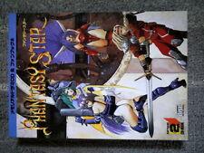 Softbank Memorial Drama CD & Fanbook 2 Phantasy Star Sega Japan