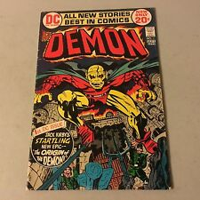 The DEMON #1 DC Comics Bronze Age Key Issue 1st Appearance of Etrigan #Dd
