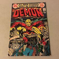 The DEMON #1 DC Comics Bronze Age Key Issue 1st Appearance of Etrigan #Dd