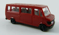 Mercedes-Benz 207 D Transporter/Bus rot Herpa 1:87 H0 ohne OVP [KM5]