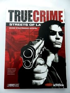 Guide Strategy True Crime Street Of La Version French Livre Gaming