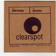 (FC454) Armstrong, Sprinkler - 1999 DJ CD