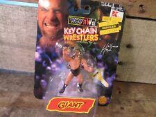 Vintage GIANT (Big Show) Key Chain 1998 Toy Biz NEW NWO WCW WWE WWF Wrestling