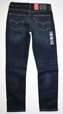 Levi's Men's 511 Slim Fit Stretch Jeans Sequoia Dark Blue Denim 31x32