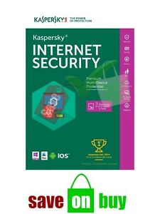 Kaspersky Internet Security 2021 - 3 Users, 1 Year (All Operating Systems)