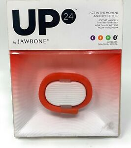 UP24 Red Healthy Lifestyle Tracking Wrist Band by Jawbone