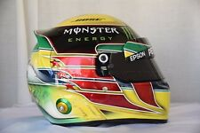 LEWIS HAMILTON 2016 BRAZILIAN INTERLAGOS  GP F1 REPLICA HELMET FULL SIZE