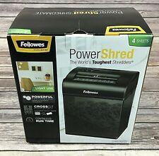Fellowes PowerShred Shredmate Paper Shredder CRC34035 Cross Cut 4 Sheets Tested