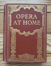 Opera at Home 1925, music illustrated theatre Gramophone, Master's Voice records