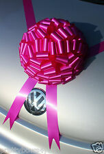 GIANT Bow New Car Bow Large Birthday Present Wedding Gift HOT PINK Bow 30cm