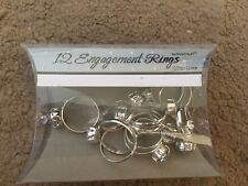 Favour Engagement Rings Pack Of 12