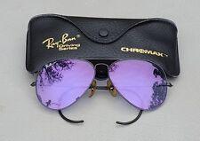 Rare Vintage B&L Ray Ban Bausch & Lomb Ace-30 Purple Chromax Sports Series 62-14