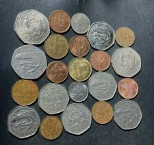 Old Barbados Coin Lot -  22 LOW Mintage Coins - Excellent Group - LOT #F24