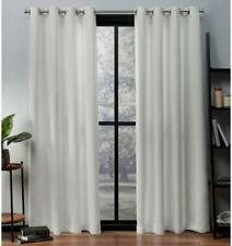 New ListingExclusive Home Curtains/Drapes Oxford Textured Sateen Thermal 52x63, Vanilla, 2
