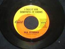 "Ella Fitzgerald ""Born to Lose/Taught Him Everyting He Knows"" 45"