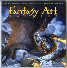 Fantasy Art Master SC book -Show they Work Brom, Maitz, Alan Lee, Howe & others